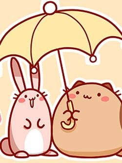 Mèo Béo Và Thỏ Giấy
